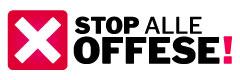stop alle offese e diffamazioni